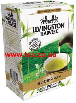 Livingston Harvest зеленый чай